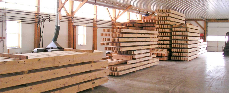 Aaron King Timber Framing LLC Shop