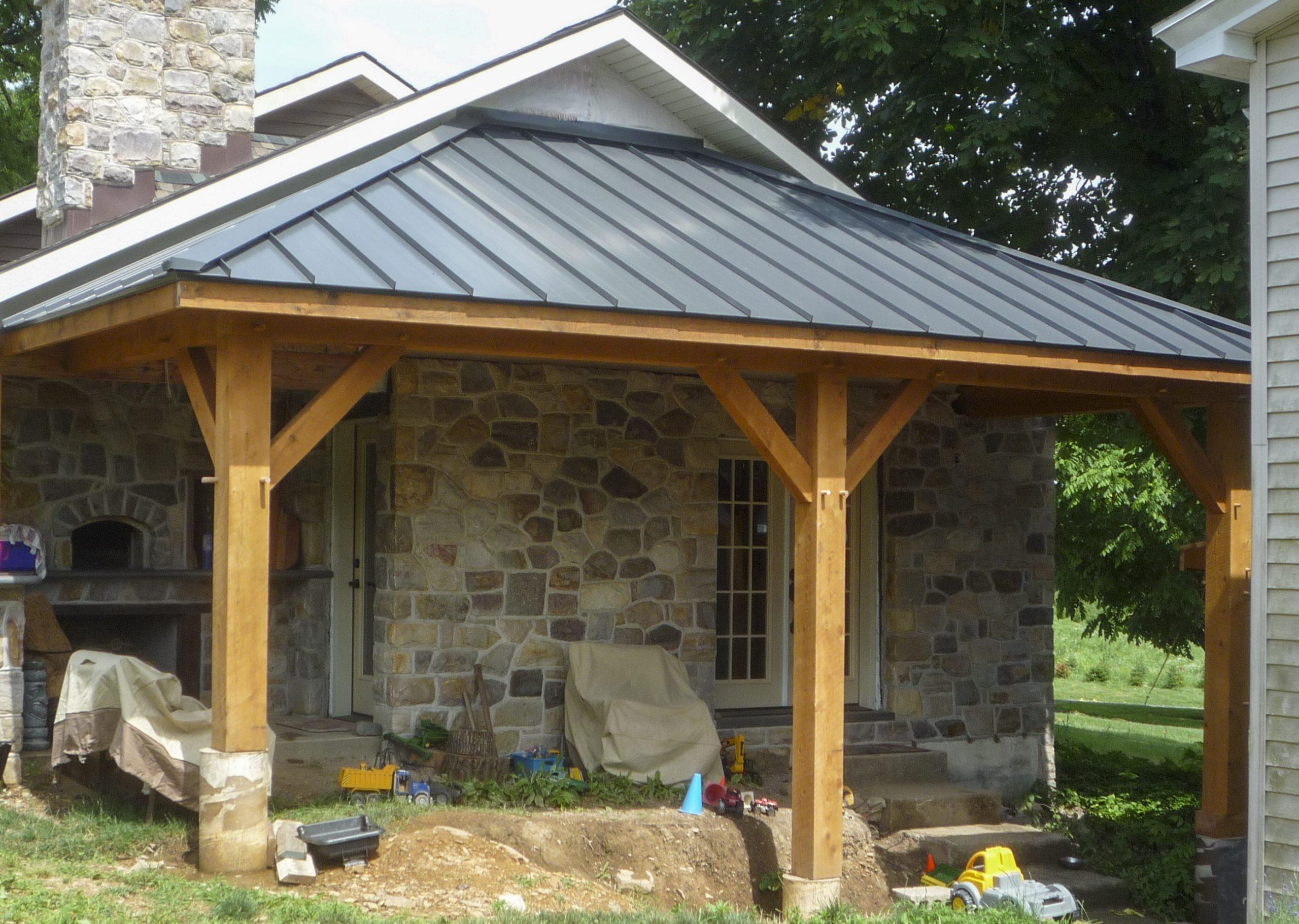 Timber Frame Renovations Aaron King Llc Lasting Additions