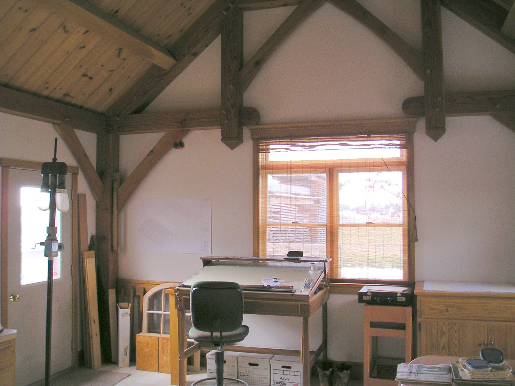 Aaron King Timber Framing LLC Office